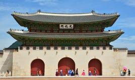 Gwanghwamun-Tor Seoul Lizenzfreies Stockbild