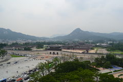 Gwanghwamun w Seul Zdjęcia Royalty Free