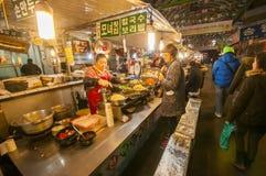 Gwangjang rynek Zdjęcie Stock