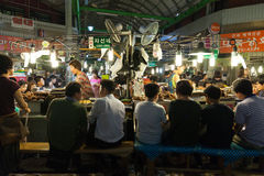 Gwangjang street market, Seoul Stock Photo