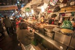Gwangjang Tradycyjny rynek Zdjęcia Stock