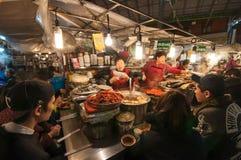 Gwangjang Tradycyjny rynek Zdjęcia Royalty Free