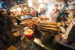Gwangjang Tradycyjny rynek Fotografia Royalty Free