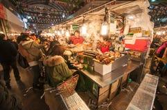 Gwangjang Tradycyjny rynek Zdjęcie Royalty Free