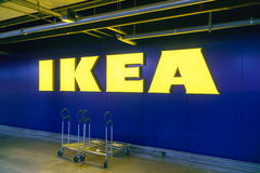 Gwangmyeong, Korea - September 14, 2015: IKEA Logo Stock Images