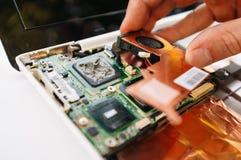 Gwaranci usługa laptop komputer osobisty, komputer (,) Obrazy Royalty Free