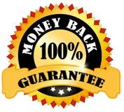 gwarancja tylny pieniądze royalty ilustracja