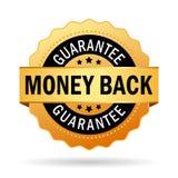 gwarancja tylny pieniądze Obrazy Stock