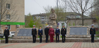Gwardia honorowa, strażnik honor, strażnik zaszczyt Zdjęcia Royalty Free