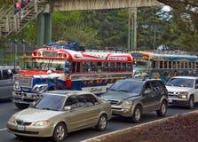 Gwatemala miasta obszar wielkomiejski Zdjęcia Royalty Free