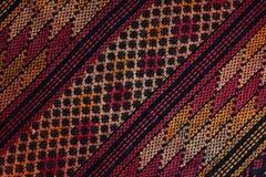 Gwatemalska wyplatająca tkanina Zdjęcie Royalty Free