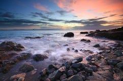gwavas wschód słońca jeziorny nadmierny Zdjęcie Stock