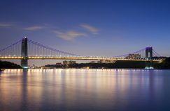 GWB at night Stock Image