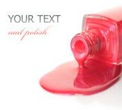 Gwóźdź polish.Manicure Zdjęcie Stock