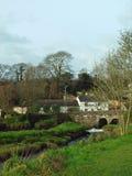 Gweek nära Helston, Cornwall Royaltyfri Foto