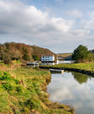 Gweek near Helston in Cornwall Stock Photography