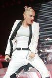 Gwen Stefani con nessun dubbio esegue fotografie stock libere da diritti