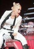 Gwen Stefani con nessun dubbio esegue fotografia stock libera da diritti