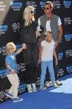 Gwen Stefani & Gavin Rossdale royaltyfri bild