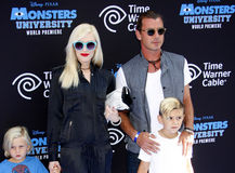 Gwen Stefani and Gavin Rossdale Royalty Free Stock Photo