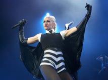 Gwen Stefani Performs stockbild