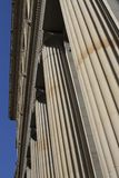 Classical style columns in Scotland royalty free stock photos