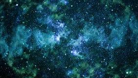 Gwiaździsta kosmosu tła tekstura Obrazy Royalty Free