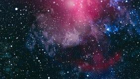 Gwiaździsta kosmosu tła tekstura Zgłębia przestrzeń Zdjęcia Stock