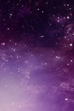 Gwiaździsty niebo, tło royalty ilustracja