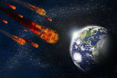 gwiaździsty tła ziemi planety starfield ilustracja wektor