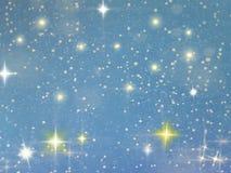 gwiaździsta noc obrazy royalty free