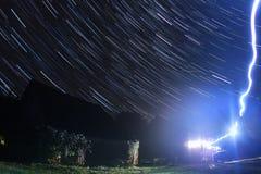 gwiaździsta noc Zdjęcie Stock
