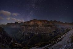 Gwiaździste góry Obraz Stock