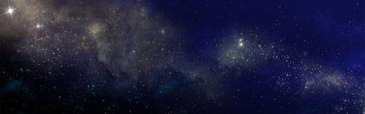 Gwiaździsty niebo Obrazy Royalty Free