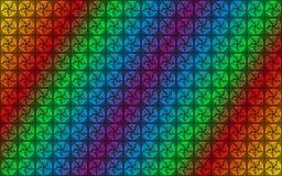 Gwiaździsty kolorowy abstrakcjonistyczny tło Zdjęcia Royalty Free
