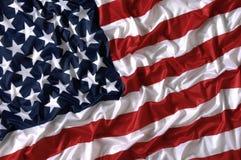 Gwiazd i lampasów amerykanina flaga państowowa Zdjęcie Royalty Free