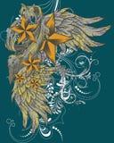 gwiazd skrzydła Zdjęcia Royalty Free