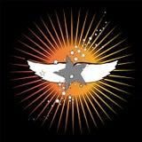gwiazd skrzydła Obrazy Royalty Free