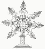 gwiazda celtic fotografia stock