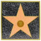 gwiazda hollywoodu Zdjęcia Royalty Free