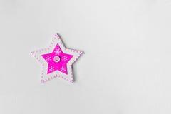 Gwiazda na białym tle zdjęcie royalty free