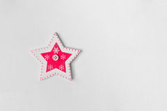 Gwiazda na białym tle Zdjęcia Royalty Free