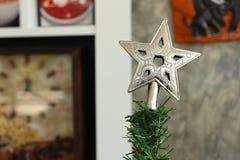 Gwiazda na bożych narodzeniach zdjęcia royalty free