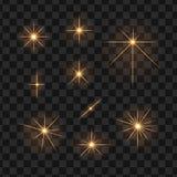 Gwiazda promieni raca royalty ilustracja