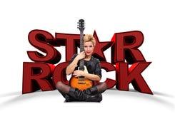 Gwiazda rocka Zdjęcia Stock