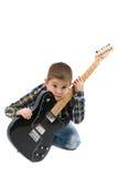 Gwiazda rocka dzieciak Obrazy Royalty Free