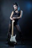 gwiazda rocka kobieta Obrazy Royalty Free