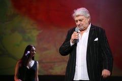 Gwiazda Rosyjska i Radziecka muzyka, muzyka popularna idol, honorujący mężczyzna, milioner, autor, piosenkarz, kompozytor Vyaches Obraz Royalty Free