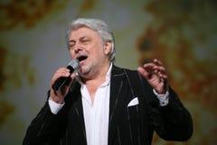 Gwiazda Rosyjska i Radziecka muzyka, muzyka popularna idol, honorujący mężczyzna, milioner, autor, piosenkarz, kompozytor Vyaches Zdjęcie Royalty Free