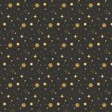 Gwiazda wzór na czarnym tle kolor tła wakacje czerwonego żółty Złoto, kolor żółty, biel gra główna rolę na czarnym tle royalty ilustracja